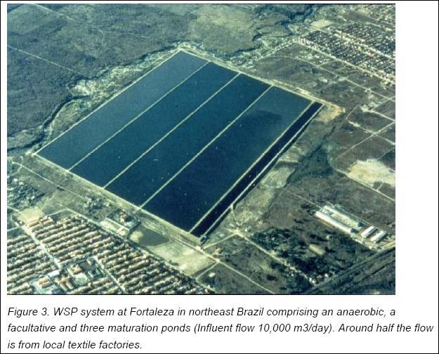 Toprak home page for Design of stabilisation pond